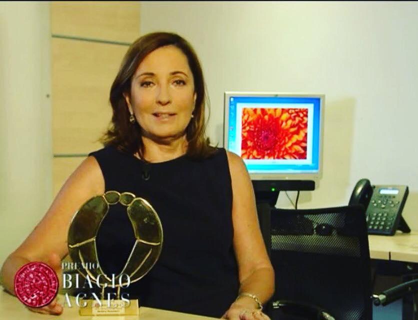 La Palombelli dedica un premio a Forum